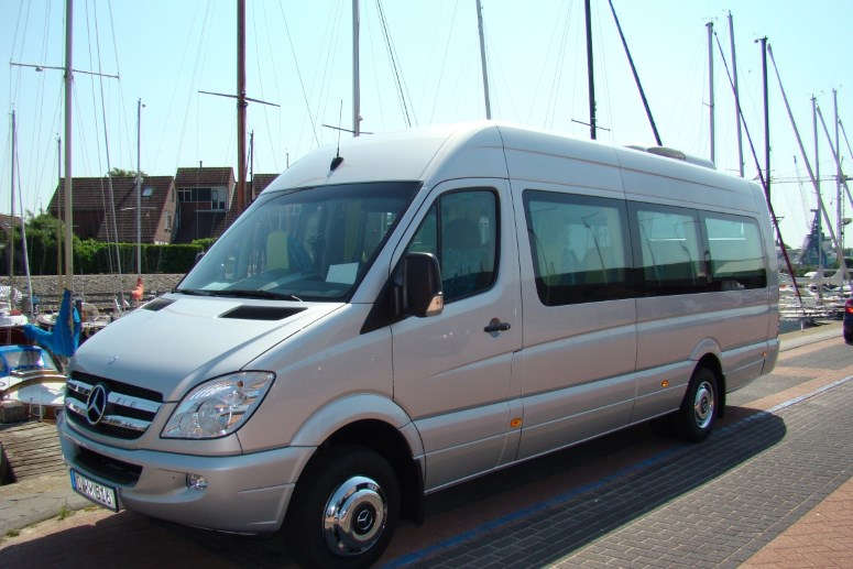 Mercedes Sprinter bus rental